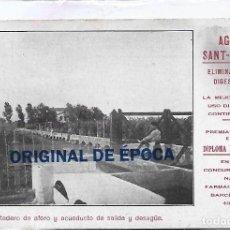 Postales: (PS-66136)POSTAL PUBLICITARIA AGUA SANT-GENIS. Lote 276978508