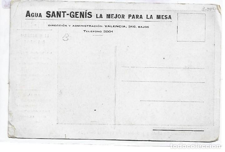 Postales: (PS-66136)POSTAL PUBLICITARIA AGUA SANT-GENIS - Foto 2 - 276978508