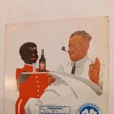 Postales: CERVEZA HACKERBRÄU.. BARCELONA EXPOSICION 1929. POSTAL PUBLICITARIA ORIGINAL AÑOS 1920S. Lote 277143998