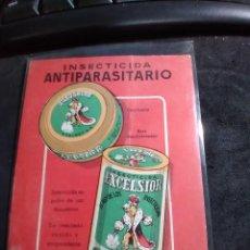 Cartes Postales: POSTAL * INSECTICIDA ANTIPARASITARIO EXCELSIOR *. Lote 277170933