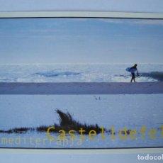 Postales: CASTELLDEFELS MEDITERRÀNIA. CALENDARI DE FESTES I ACTIVITATS 2001. Lote 277187803