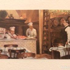 Postales: ANTIGUA POSTAL PUBLICIDAD RESTAURANTE LOS CARACOLES DE BARCELONA. Lote 277555048