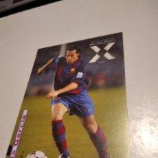 Postales: POSTAL UMBRO LUIS GARCÍA FC BARCELONA. Lote 277852183