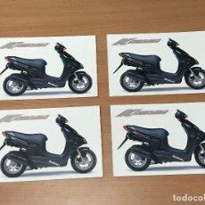 Postales: LOTE 4 POSTALES SUZUKI KATANA SIN CIRCULAR - MUY BUEN ESTADO. Lote 278559343
