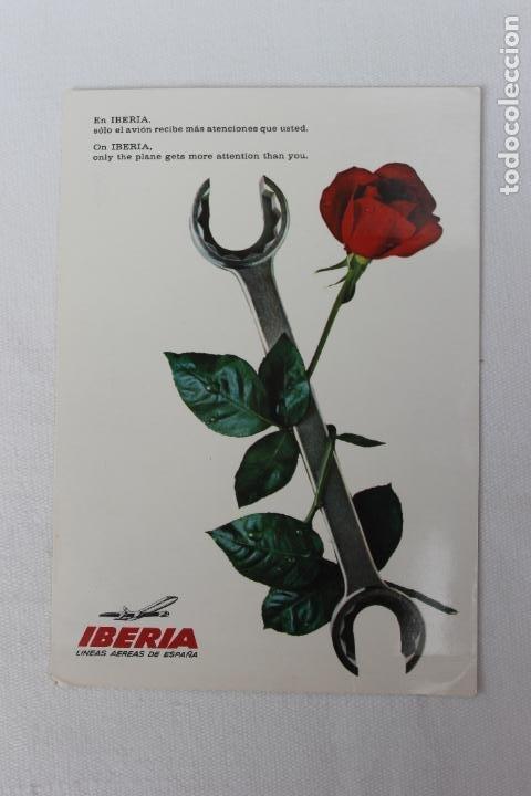 POSTAL IBERIA LINEAS AEREAS DE ESPAÑA 1967 (Postales - Postales Temáticas - Publicitarias)