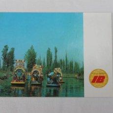 Postales: POSTAL IBERIA LINEAS AEREAS DE ESPAÑA MEXICO XOCHIMILCO 1968. Lote 278673948