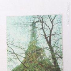 Postales: POSTAL IBERIA LINEAS AEREAS DE ESPAÑA PARIS TORRE EIFFEL 1968. Lote 278674588