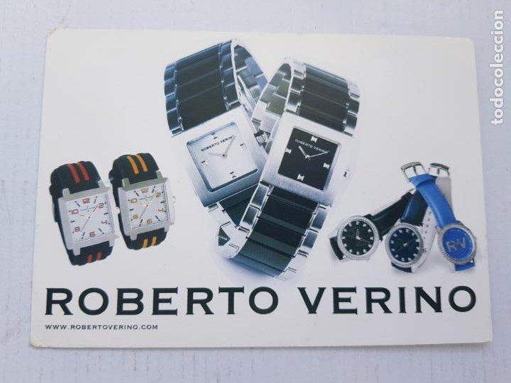 ROBERTO VERINO POSTAL PUBLICITARIA (Postales - Postales Temáticas - Publicitarias)