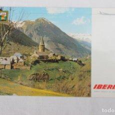 Postales: POSTAL IBERIA LINEAS AEREAS DE ESPAÑA PIRINEO CATALAN VALLE DE ARAN 1967. Lote 278674973