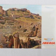 Postales: POSTAL IBERIA LINEAS AEREAS DE ESPAÑA SAGUNTO TEATRO ROMANO Nº2. Lote 278675113