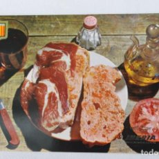 Postales: POSTAL COLECCION IBERIA PLATOS TIPICOS PAN CON TOMATE Y JAMON. Lote 278675943
