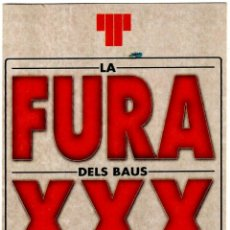 Postales: LA FURA DELS BAUS - XXX - TEATRE LLIURE - 17.09.2002 - POSTAL 150X105 MM.. Lote 279433548