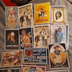 Postales: 14 POSTALES PUBLICITARIAS. Lote 280125828