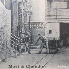 Postales: MOET & CHANDON-ESTACION ELECTRICA-PUBLICIDAD-POSTAL ANTIGUA-(83.837). Lote 286877758