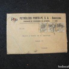 Postales: BARCELONA-PETROLEOS PORTO-ITINERARIOS EXCURSIONES AUTOMOVIL-SERIE 1 COMPLETA-VER FOTOS-(83.910). Lote 286890668