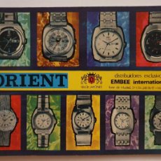 Cartoline: RELOJES ORIENT - P62913. Lote 287005853