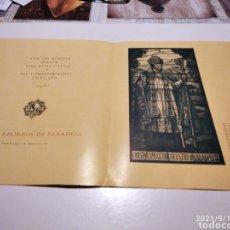 Postales: POSTAL FELICES FIESTAS CAJA DE AHORROS DE SABADELL 1951. Lote 288098478