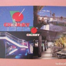 Postales: POSTAL DE DISCOTECA CHERRY. COLLADO VILLALBA.. Lote 288925538