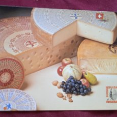 Postales: QUESO SWITZERLAND. INTER SPAR PLAZA. BILBAO. POSTAL PUBLICITARIA 1981. Lote 288927413