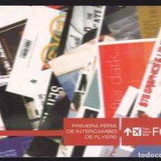 Cartoline: BARCELONA. *PRIMERA FERIA DE INTERCAMBIO DE FLYERS* FCB FLYER CENTER BCN 2002. NUEVA.. Lote 289423303
