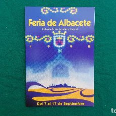 Postales: POSTAL FERIA DE ALBACETE DE 1998. Lote 289843233