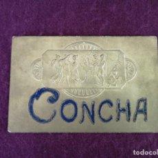 Cartoline: PPIOS S. XX, 1905 O ANTERIOR, POSTAL CON RELIEVES, CONCHA. Lote 292392443