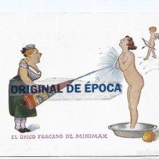 Postales: (PS-66546)POSTAL PUBLICITARIA DE EXTINTORES MINIMAX CENTRAL ESPAÑOLA-RONDA SAN PEDRO,56-BCN. Lote 293795153