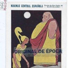 Postales: (PS-66549)POSTAL PUBLICITARIA DE EXTINTORES MINIMAX CENTRAL ESPAÑOLA-RONDA SAN PEDRO,56-BCN. Lote 293795823