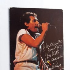 Postales: POSTAL - KAS Y MIGUEL RIOS PRESENTAN EL ROCK DE UNA NOCHE DE VERANO. Lote 295643513