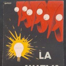 Postales: POSTAL PUBLICITARIA LA NUEVA OSRAM, DE 1926. Lote 295797458