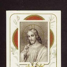 Postales: ESTAMPA RELIGIOSA: JESUS. Lote 3195755
