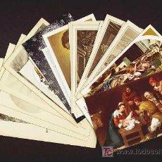 Postales: LOTE DE 25 ESTAMPAS RELIGIOSAS DIFERENTES. Lote 170506445
