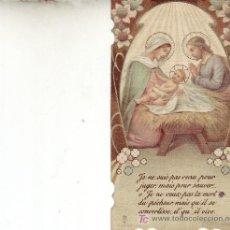 Postales: POSTAL RELIGIOSA -RECORDATORIO FRANCÉS. Lote 3676752