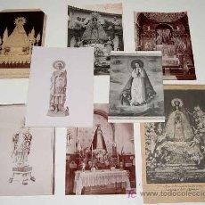 Postales - LOTE DE 8 ANTIGUAS FOTOGRAFIAS RELIGIOSAS - ALGUNA DE ELLAS ALBUMINAS - INMACULADA DE LA ASUNCION - - 14038644