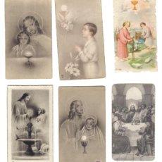 Postales: LOTE 6 ESTAMPAS RELIGOSAS AÑOS 1940-50. Lote 27067053