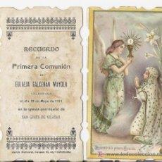 Postales: SAN GINES DE VILASAR *ESTAMPA AÑO 1911*. Lote 18093157