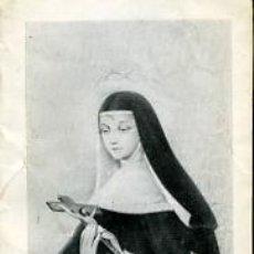 Postales: SANTA RITA DE CASIA - 1966 - DOS HOJAS. Lote 4402436