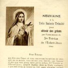 Postales: STA. THERESE DE L'ENFANT- JESUS - EN FRANCÉS. Lote 4402446