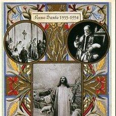 Postales: HISTORIA GRÁFICA DEL SIGLO XX - REPRODUCCIÓN 1982 - ANNO SANTO 1933-1934. Lote 4481841
