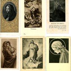 Postales: 6 ESTAMPAS RELIGIOSAS. Lote 4999168