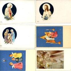 Postales: 8 ESTAMPAS RELIGIOSAS. Lote 4999183