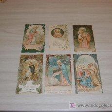 Postales: LOTE 6 ESTAMPAS 1910-20. Lote 15072020