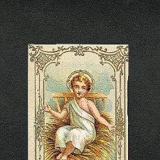 Postales: ESTAMPA RELIGIOSA: NIÑO JESUS. Lote 5263104