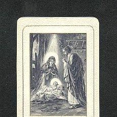 Postales: ESTAMPA RELIGIOSA: NATIVIDAD., EN RELIEVE. Lote 5263162