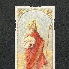 Postales: ESTAMPA RELIGIOSA: JESUS. Lote 5263293
