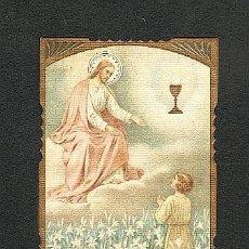 Postales: ESTAMPA RELIGIOSA: JESUS Y UN NIÑO. Lote 5263310