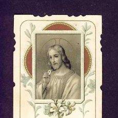 Postales: ESTAMPA RELIGIOSA: JESUS. Lote 5422697