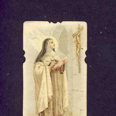 Postales: ESTAMPA RELIGIOSA: SANTA TERESA DE JESUS. AVILA. HOLY CARD. IMAGE PIEUSE. Lote 5424520