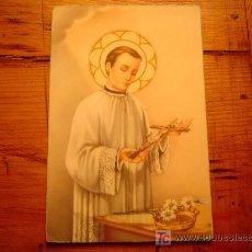 Postales: POSTAL RELIGIOSA SAN LUIS. Lote 19904911