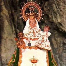 Postales: POSTAL DE COVADONGA-ASTURIAS LA SANTINA -PATRONA . Lote 5588235
